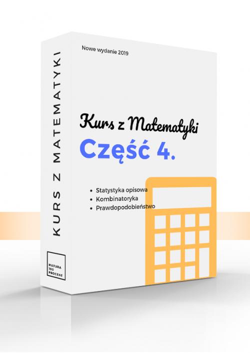 Matematyka 4. Statystyka opisowa